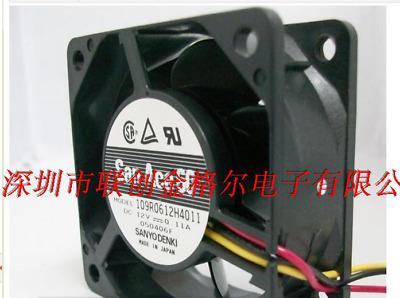 1pc new fan freeship 9A0812H401 109P0812H2D011 DC12V SANYO 8cm