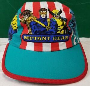 X-Men Mutant Gear 90s cap vintage hat childrens fits small head ... 5f9352a2cdb