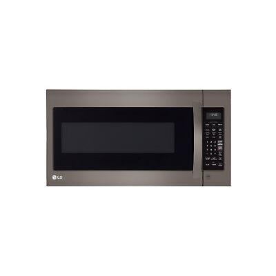 LG LMV2031BD - 2.0 Cu Ft Black Stainless Steel Over The Range Microwave Oven