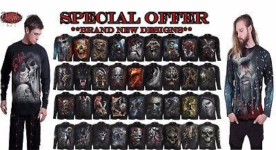 Spiral Direct Nouveau Crâne//Gothique//REAPER//rock//métal//Noël//Cadeau//