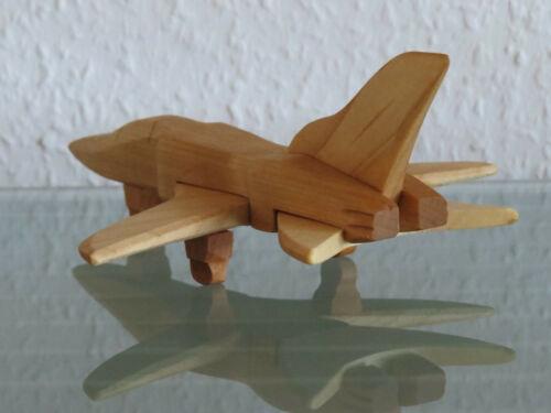 Kampfflugzeug Kampfjet Flugzeug Jet Flieger Jagdflugzeug Jagdbomber Modell Holz