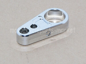 """Motors Universal Clamp Brake Cable Clutch Clip 1/"""" Handlebar for Harley"""
