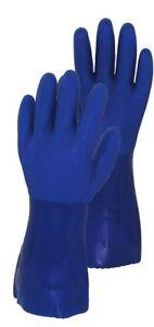 Ultimate Garden/Househo<wbr/>ld Gloves in 4 Sizes, Heavy Duty Vinyl W/Cotton Lining