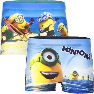 Minions Badehose Kinder Minion Badeshorts Schwimmboxer Surfshorts 98 104 110 128