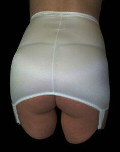 Vintage-New-pull-on-up-Suspender-control-girdle-shapewear-Size-XXL-33-034-34-034