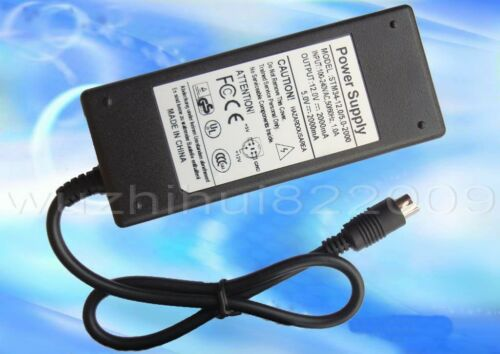 5V 2A for HDD Enclosure Case Power Supply Adapter 5 pin AC 100V-240V DC 12V 2A