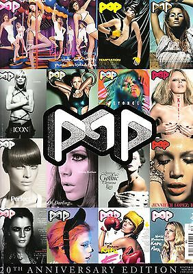 POP #20 ANNIVERSARY EDITION Liu Wen AMBER VALLETTA Cordula Reyer CHANEL IMAN