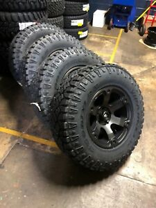 Dodge Ram 1500 Wheels And Tires Packages >> Details About 17x9 Fuel Beast D564 Wheels 33 Duratrac At Tires Package Dodge Ram 1500 5x5 5