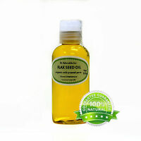 100% Pure Flax Seed Oil Cold Pressed By Dr.adorable Organic Raw Virgin 4 Oz
