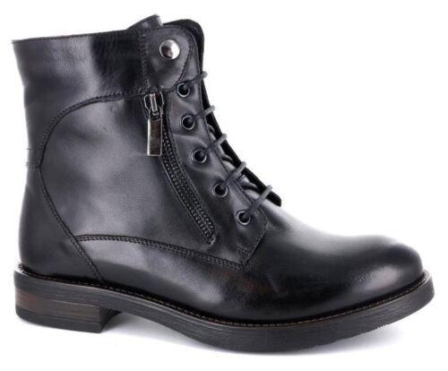 Chaussures 7701 Giglio Bottes Cuir Avec Bas Talon Du Fiorentino Noir Femme r0rxwAH