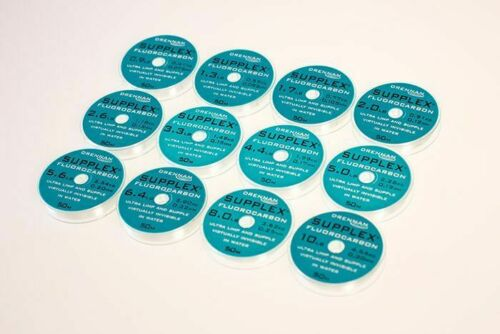 Drennan Supplex Fluorocarbon 50m Spools Match Hooklength *All sizes* 1 POST*