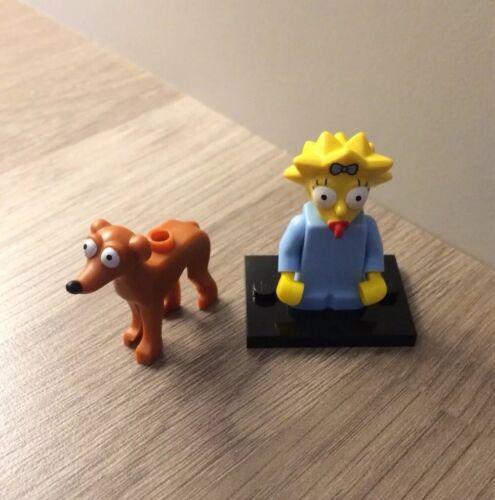 LEGO SIMPSONS SERIE 2 minifigura 71009 Maggie Simpson e piccolo aiutante di Babbo Natale