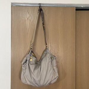 Lesportsac Stella McCartney Tan Messenger Bag Travel Gym