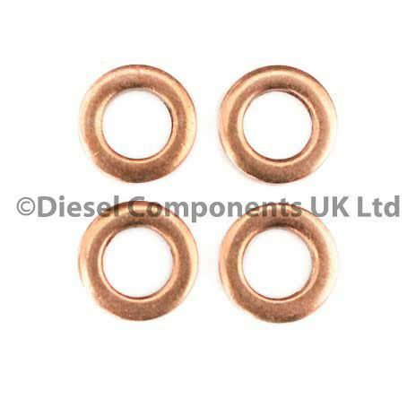 DCS166 Renault Fluence 1.5 DCi Injector Seals for Bosch Common Rail Injectors