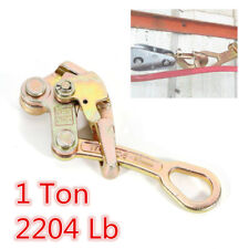 Multifunctional Cable Wire Rope Haven Jaw Pulling Tool Alloy Cable Grip 2204 Lbs