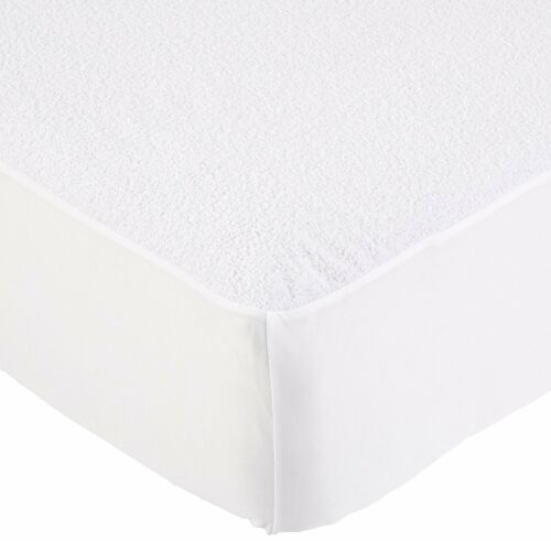 TWIN Mattress Protector Pad Waterproof Soft Terry Cotton Hypoallergenic Cover