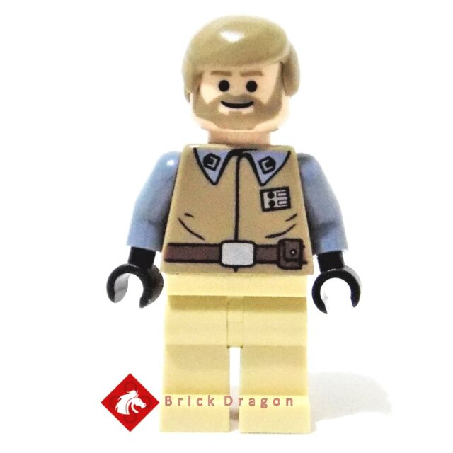 General Crix Madine LEGO Star Wars Figur Minifig Home One Mon Calamari 7754
