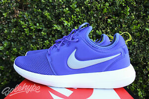 NIKE ROSHE TWO PARAMOUNT BLUE WOLF GREY 844656 401 SZ 13