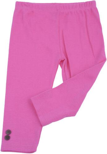 LEGGINGS Mädchen 2-teiler Rockabilly Pink BOW Leoparden RÜSCHEN Baby DRESS
