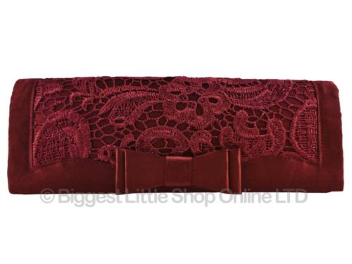 da Leko 2 colori donna Pochette bordeaux in spalla da London sera no Of Existencias di Catena a Hay nuova pizzo argento wq8gI6x8
