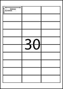 a4 labels avery compatible labels 100 sheets 30 labels page dl