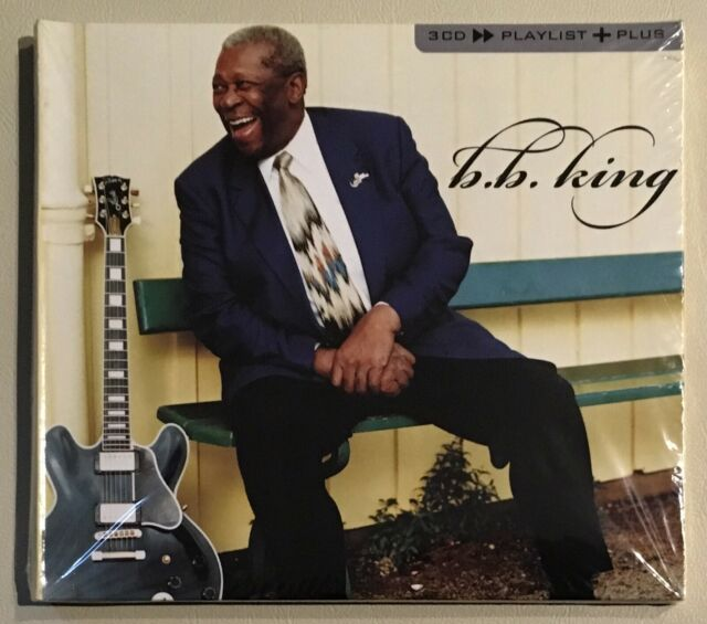 B.B. KING 3CD>>PLAYLIST+PLUS 3x CD ALBUM ### BRAND NEW SEALED ###