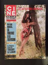 CINE REVUE 1976 N°47 tina aumont thierry le luron lauren hutton jean servais