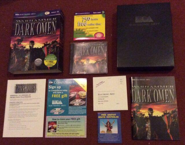 Warhammer: Dark Omen (PC: Windows, 1998) BIG BOX Complete - New Not Sealed