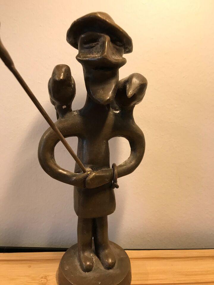 Bronzefigur, motiv: Odin