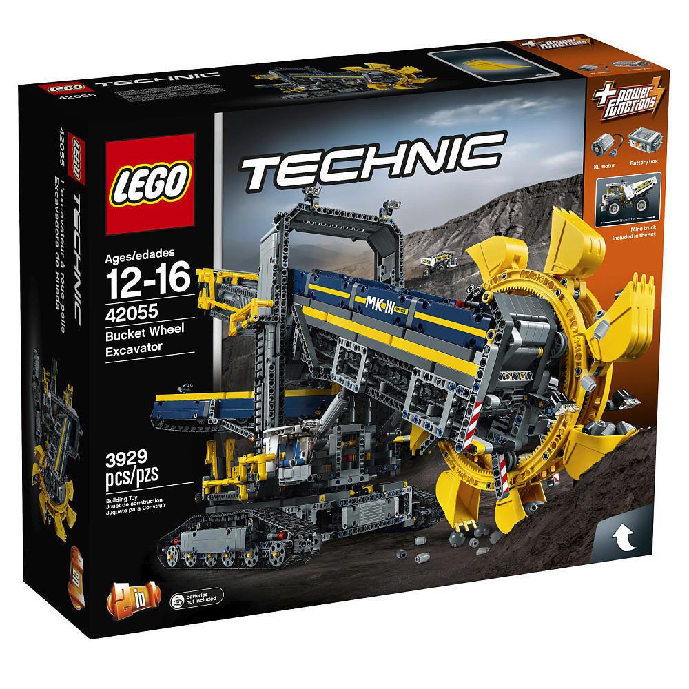 Lego Eimer Rad Bagger 42055 Technic Set W Leistung Functions