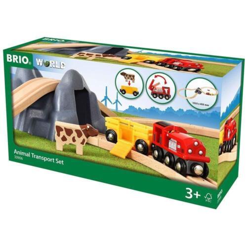 Ravensburger BRIO 33906 Set di trasporto degli animali