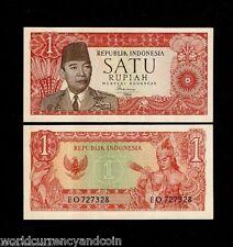 INDONESIA 2.5 2 1 //2 RUPIAH  P41 1953 GARUDA UNC MONEY BILL ASIA BANK NOTE