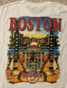 Hard-Rock-Cafe-BOSTON-2017-City-Tee-White-T-SHIRT-2X-XXL-Men-039-s-New-Tags-V17
