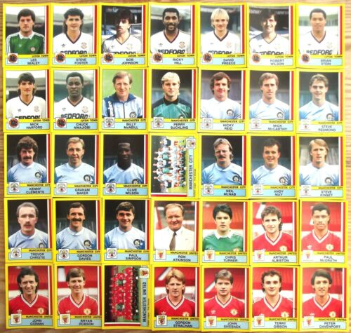 PANINI FOOTBALL 87 PICK WHAT YOU NEED FROM DROP DOWN LIST EVERTON WEST HAM QPR