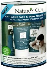 Nature's Cure Anti-Acne Face - Body Shower Kit For Males 1 Each