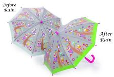 Floss & Rock Colour Changing Owls Kids Umbrella Manual Opening Fun Girls Gift