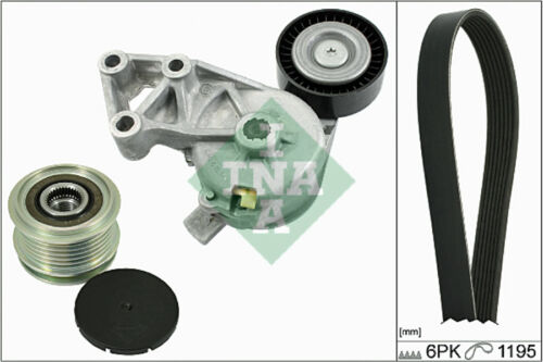 INA v-Cintura a costine Set 529000110 in forma con VW SHARAN