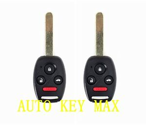 replacement       honda accord remote key oucgdha ebay