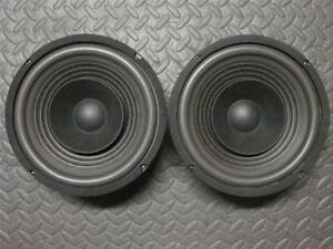 NEW-2-8-034-Full-Range-Coaxial-Speakers-2-way-Eight-inch-w-tweeter-8ohm-PAIR-8in