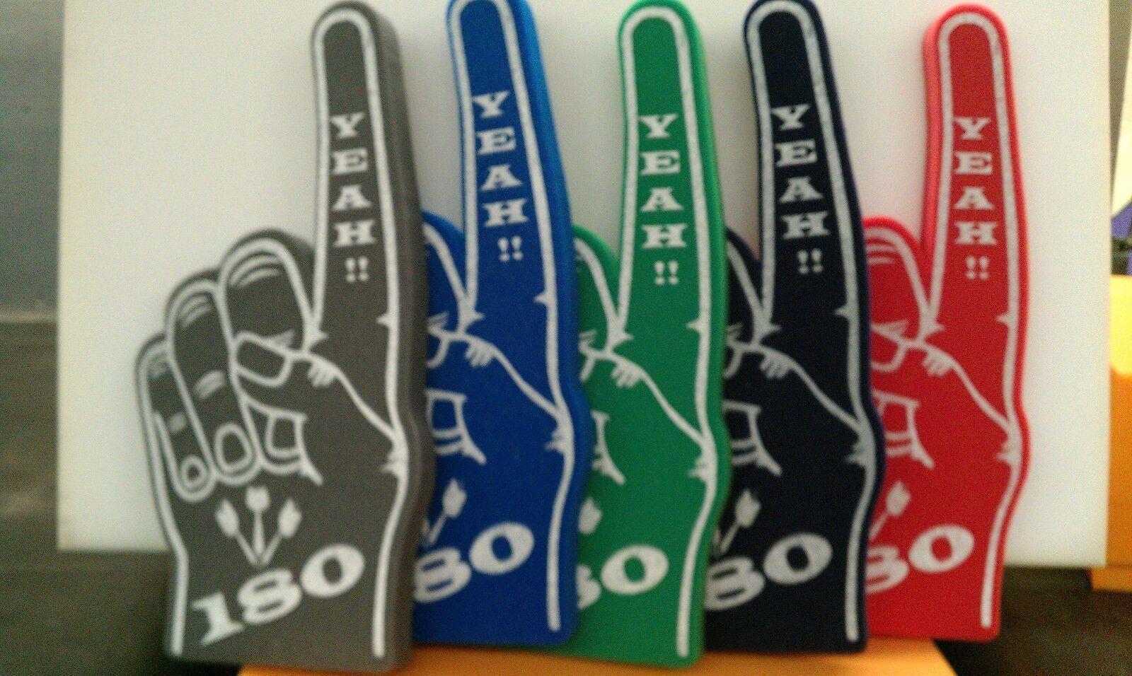 Darts Yeah 180  Giant Foam Hand Pointy Finger Packs  Of 10  últimos estilos