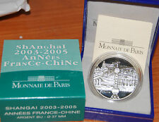 France 2005 Shanghai Chine 2003 1/4 euro Silver Proof China Shangai 0,25€ argent