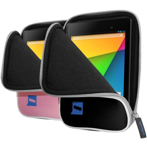 NEOPRENE Custodia Cover Pouch titolare per Google Nexus 7 FHD 2a II Gen 2013