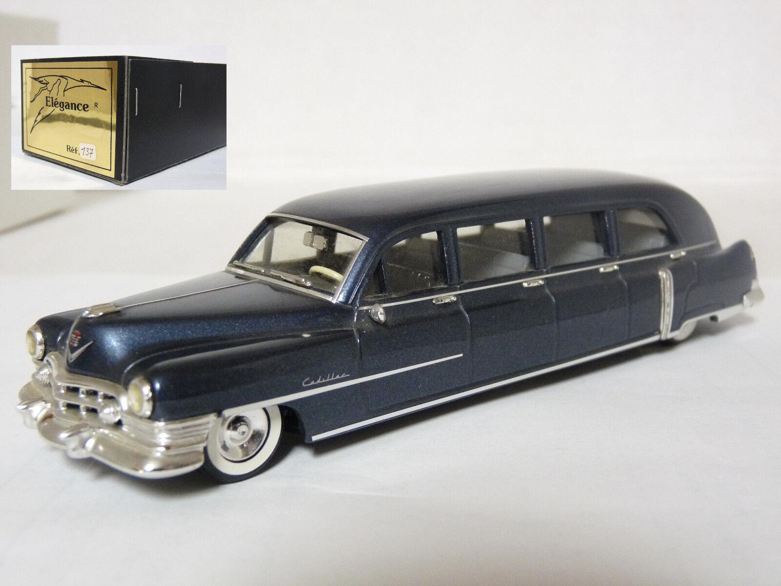 ELEGANCE 137 1 43'50 ILLAC 8-Porte Airport Limousine résine fait main modèle voiture