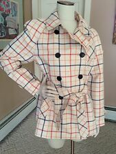 Coach Double-Breasted Trench Coat Jacket Size Large -New!