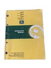John Deere 405542554455 Tractors Operator Manual Omar110571