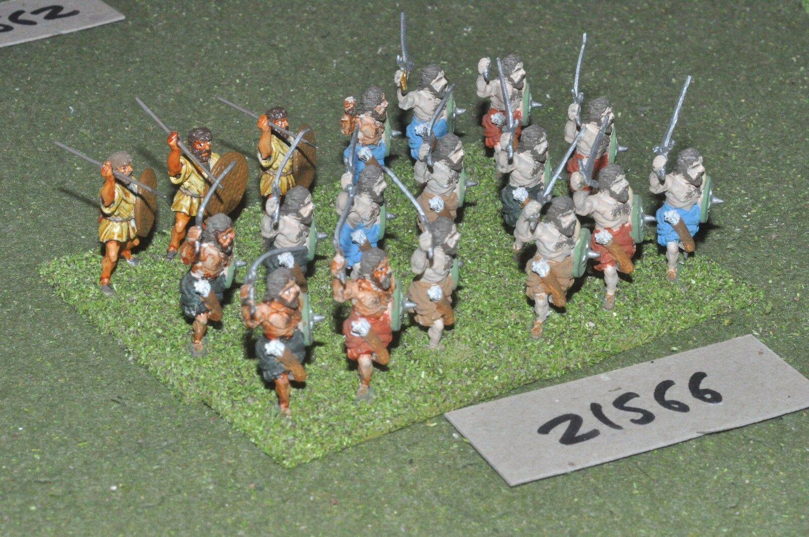 25mm ECW   scottish - civil war scots 18 highlanders infantry - inf (21566)