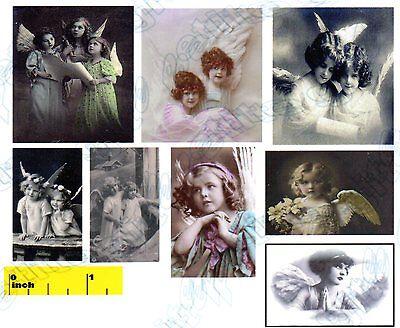 Miniature Vintage Easter  Chicks  Prints   Dollhouse   1:12 scale