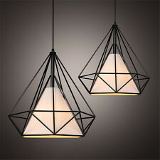 Vintage Deckenlampe Schwarz Antique Kronleuchter Küche LED Pendelleuchte Ceiling