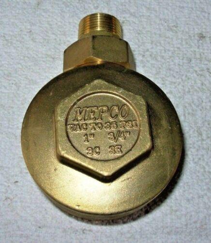 "MEPCO 3//4/"" X 3//4/"" 2E BRASS ANGLE STEAM TRAP THERMOSTATIC RADIATOR VALVE  FRE SHP"