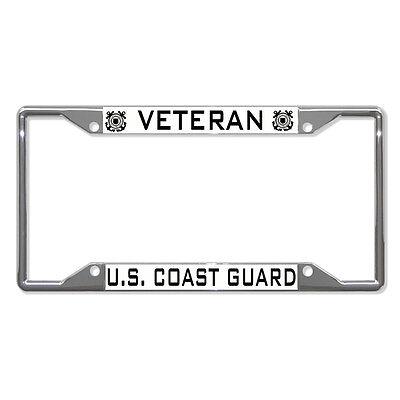 VETERAN US COAST GUARD License Plate Frame NEW